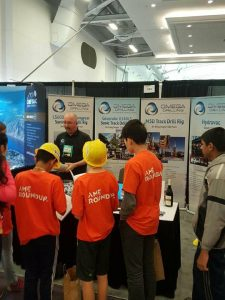 Omega Drilling's Scott Pretty educating the newest generation of miners in BC!